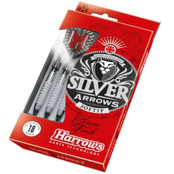 PIKADO PUŠČICE HARROWS SILVER ARROW